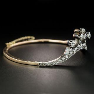 Victorian Diamond Tiara Bracelet