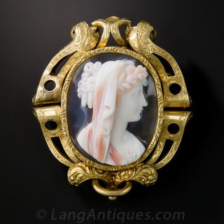 Victorian Hardstone Cameo from Sweden