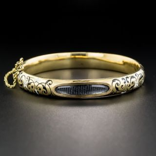 Victorian Locket Bangle Bracelet