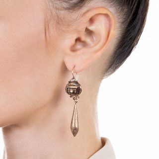 Victorian Long Drop Earrings