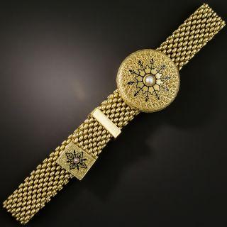 Victorian Mesh Slide Bracelet - 2