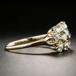Victorian Natural Colored Diamond Ring