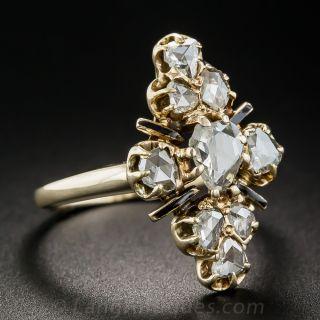 Victorian Rose-Cut Diamond Dinner Ring