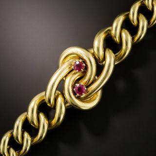 Victorian Ruby Bracelet