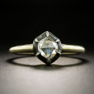 Victorian-Style .66 Rose Cut Diamond Ring - 2