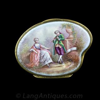 Viennese Painted Box - 1
