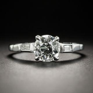 Vintage 1.15 Carat Diamond Engagement Ring- GIA I VS2  - 1