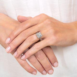 Vintage 1.19 Carat  Diamond Engagement Ring - GIA G VVS1