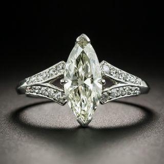 Vintage 1.44 Carat Marquise-Cut Diamond Engagement Ring - GIA - 2