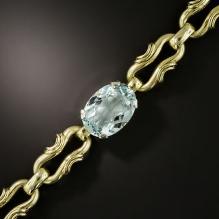 Vintage 1960s Aquamarine Bracelet