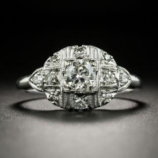 Vintage .40 Carat Diamond Engagement Ring - 2