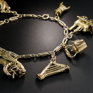 Vintage 8 Charm Bracelet