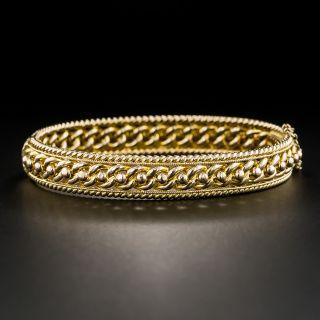 Vintage British Bangle Bracelet