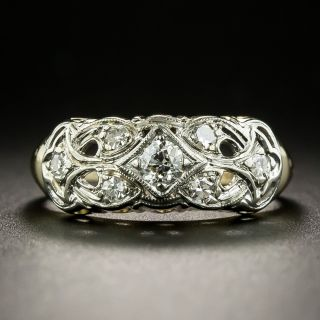 Vintage Diamond Band Ring, Circa 1940 - 2