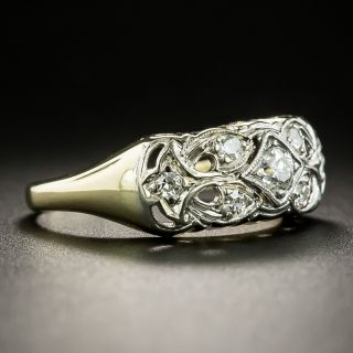Vintage Diamond Band Ring, Circa 1940