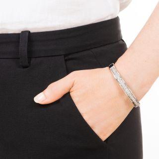 Vintage Diamond Bangle Bracelet