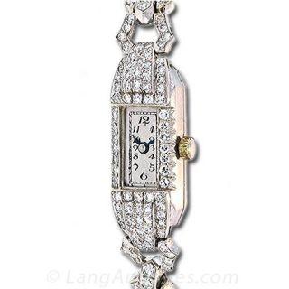 Vintage Diamond Dress Watch