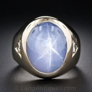 Vintage Star Sapphire Ring - 1