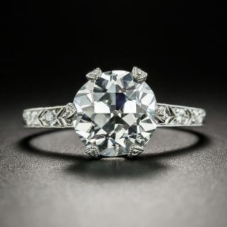 Vintage Tiffany & Co 3.02 Carat Diamond Engagement Ring - GIA E Internally Flawless - 2