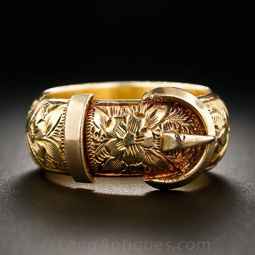 ring fitment standard hawaiian design hang grande shape old products rings with english dome engraved gold