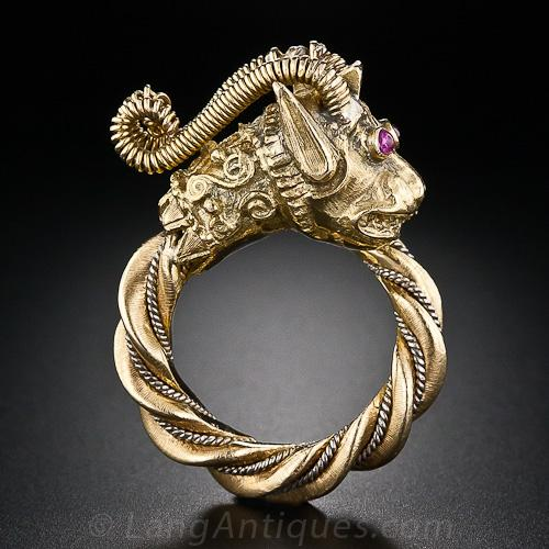 Fabulous Chinese Dragon Ring