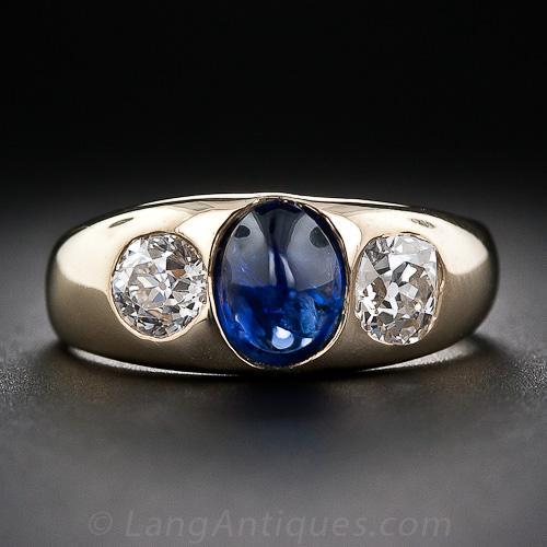 Men S  Stone Diamond Ring