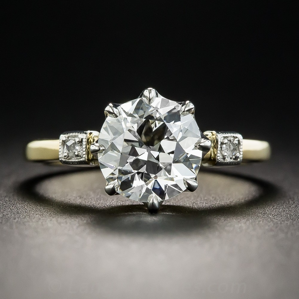 2.12 Carat Diamond Solitaire Engagement Ring