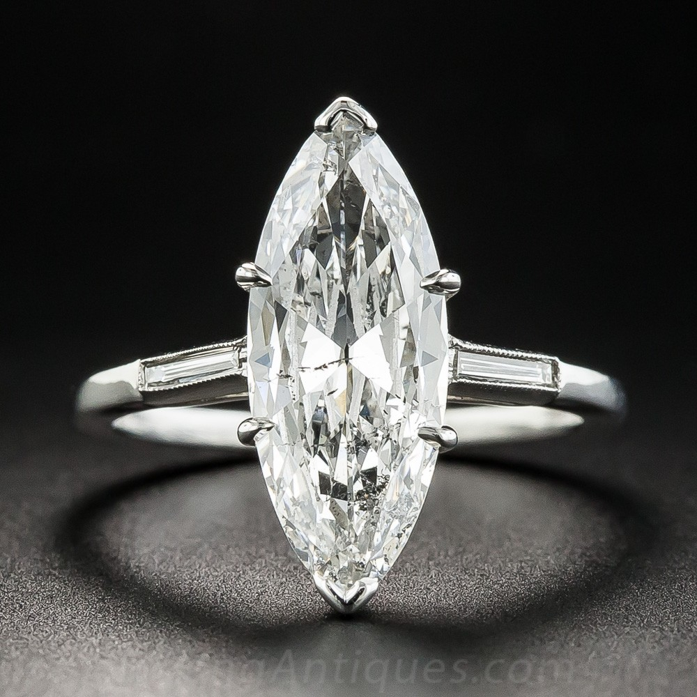 2.40 Carat Marquise Diamond Ring