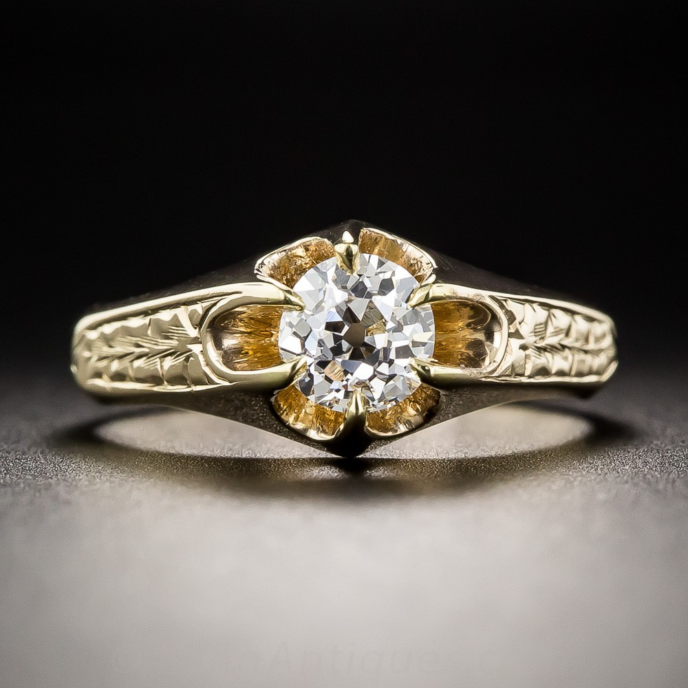 Victorian Diamond Solitaire