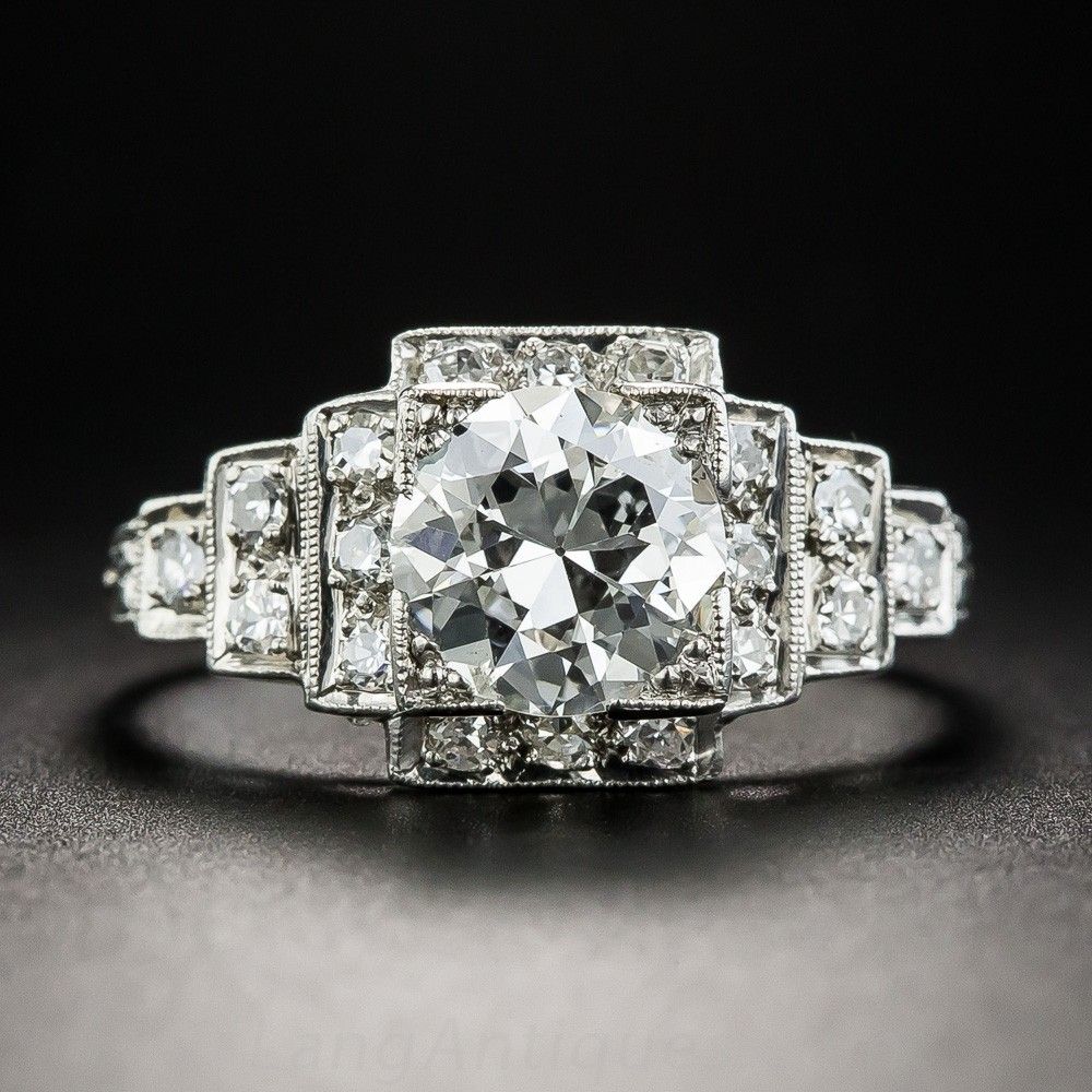 1.23 Carat Diamond Engagement Ring