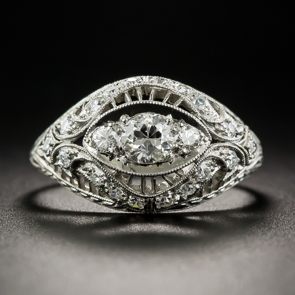 Tiffany & Co. Edwardian Diamond Ring