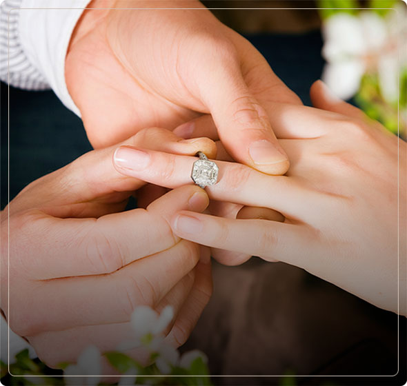 shop for antique and vintage engagement rings