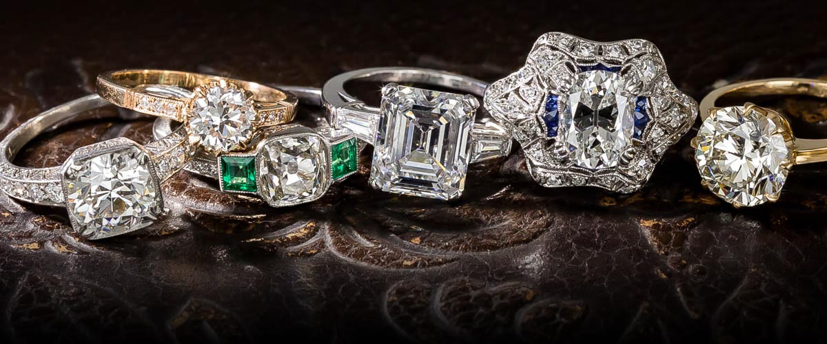 Lang Antique and Estate Jewelry specialty engagement