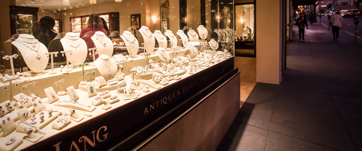 Lang Antique and Estate Jewelry is based in San Francisco