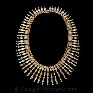 Fringe Necklace.