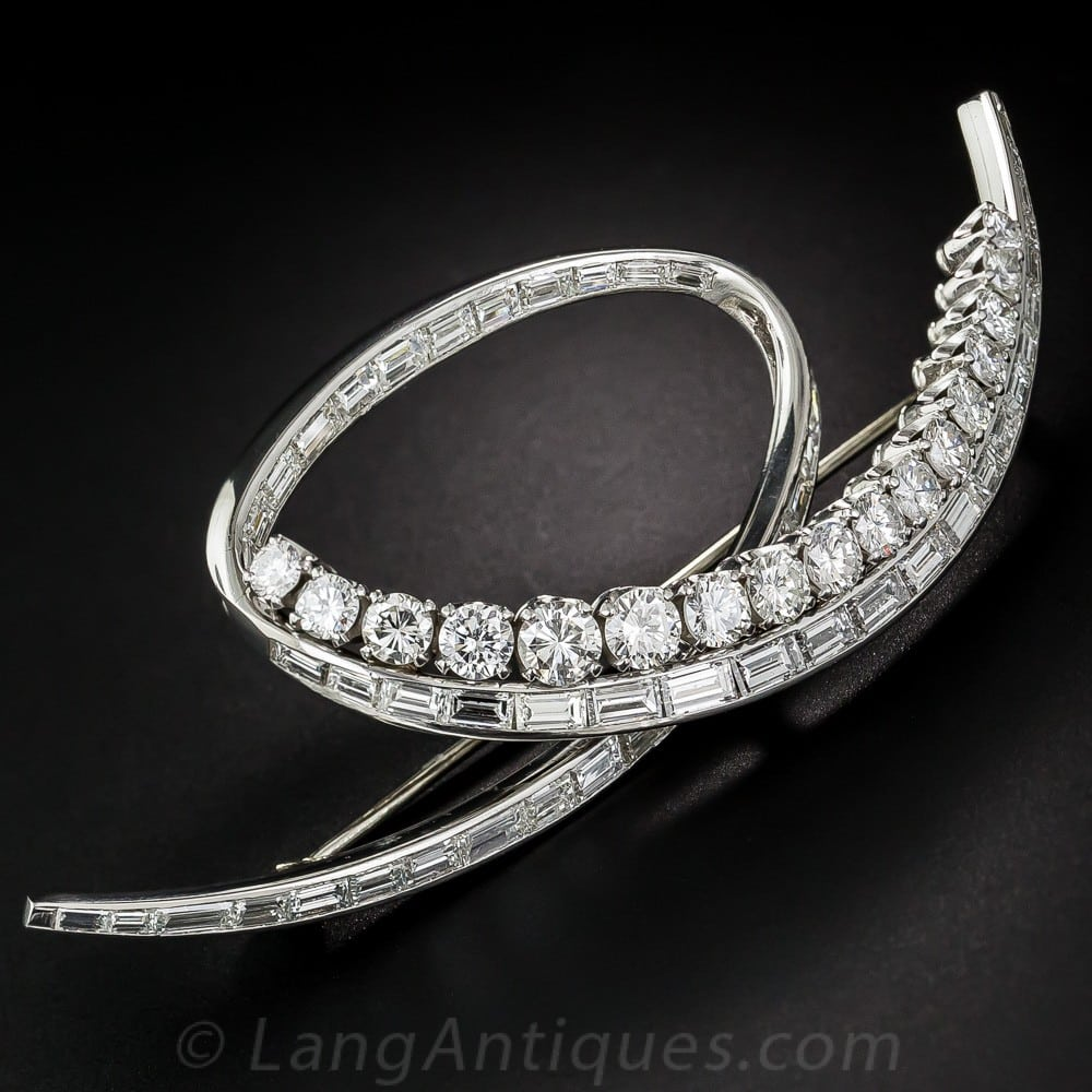 Fifties Looped Diamond Brooch.jpg