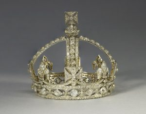 Queen Victoria's Small Diamond Crown, 1870, R & S Garrard.
