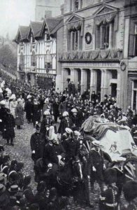 Funeral Procession for Queen Victoria, 1901.