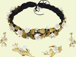 Orange Blossom Parure, Gifts from Albert to Victoria 1839-1846.
