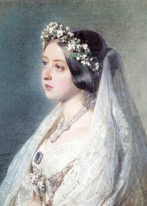 Bridal Portrait of Queen Victoria.
