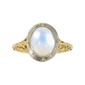Moonstone Ring with Adularescence.