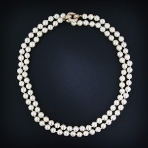 Akoya Pearl Necklace.