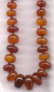 Amber Beads.