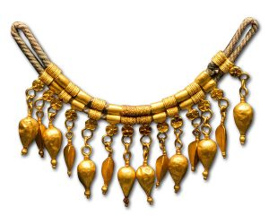 Greek Amphora Necklace, 360 BC.