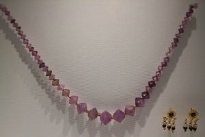Ancient Amethyst Necklace.