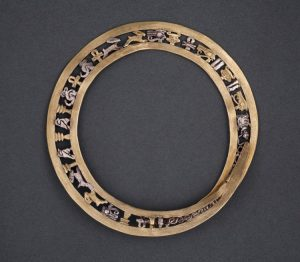 Gold and Silver Bangle, c.2055 BC-1650 BC