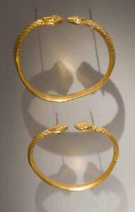 Ancient Gold Bracelets.