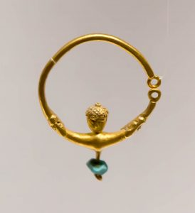 Ancient Gold Earring.
