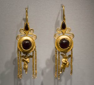 Ancient Gold Earrings.