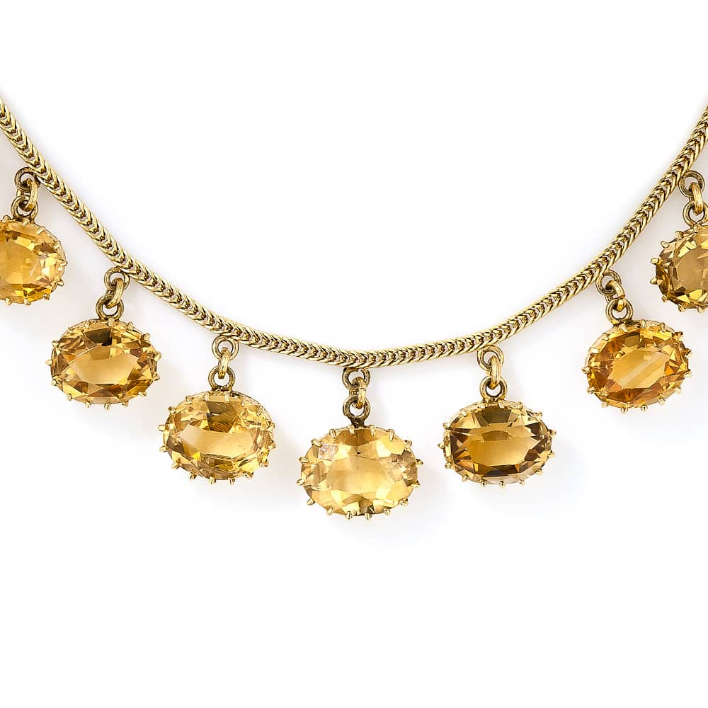 Antique Citrine Necklace.jpg